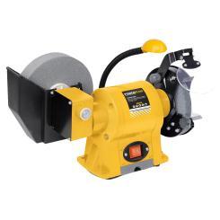 Powerplus Schleifmaschine 350W Nass-/ Trockenschleifer + LED Arbeitsleuchte