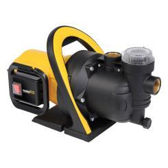 POWERPLUS Gartenpumpe 800 Watt, 3200 Liter/Stunde, Schmutzwasserpumpe 3500 l/h Frischwasser Pumpe