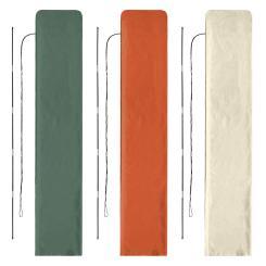 Schutzhülle für eckige Ampelschirme 3 x 3 m Sonnenschirm Husse - Farbwahl