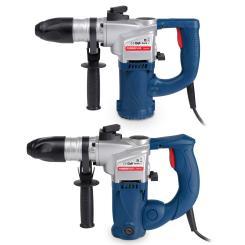 Powerplus SDS Bohrhammer 900W, 1200W + 13 mm Schlüsselbohrfutter + Zubehör Auswahl