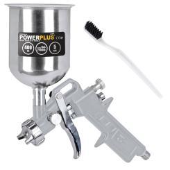 Lackierpistole Druckluft Hochdruck Farbspritzpistole Fließbecherpistole 400 ml