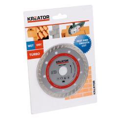 Kreator Turbo Diamant Trennscheibe ø 230 mm für Trennschleifer Winkelschleifer