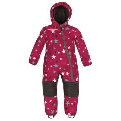 Skianzug Kinder Größe 74 - 104 Winddicht Wasserfest - Pink Sterne