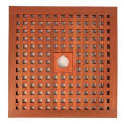 Abdeckung Sonnenschirmständer Tatami 60 x 60 cm - verschiedene Lochdurchmesser