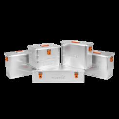 Outdoor Aluboxen M32 bis M45 Liter - Größenwahl
