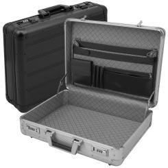 anndora Aktenkoffer Aluminium Attaché Koffer abschließbar - Farbwahl