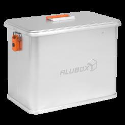 ALUBOX Motorradkoffer aus Alu M41 Liter Seitenkoffer Metallbox Kiste