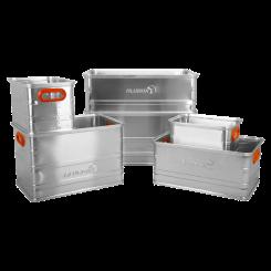 Alubox Lagerbox - 28 Liter bis 161 Liter - Auswahl