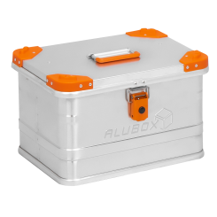 ALUBOX Alukiste mit Stapelecken D29 Liter