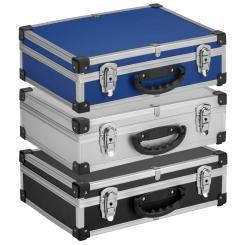 VARO Alukoffer Alubox Werkzeugkoffer Transportbox + Schlüssel Farbwahl