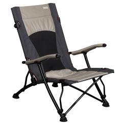 Camping- und Strandstuhl mit tiefer Sitzhöhe