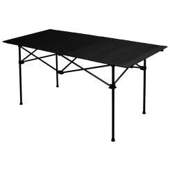 anndora Campingtisch Esstisch Spieltisch schwarz 1,40 m