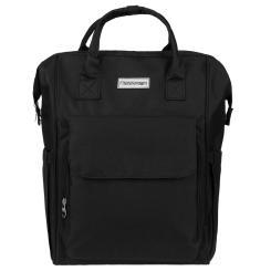 Rucksack und Tragetasche für Business und Freizeit - schwarz