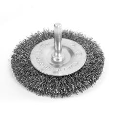 Scheibenbürste Bürstenaufsatz ø 75 mm Stahl Rundbürste Drahtbürste Topfbürste