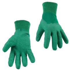 Gartenhandschuhe Arbeitshandschuhe Schutzhandschuhe - Latex Grün