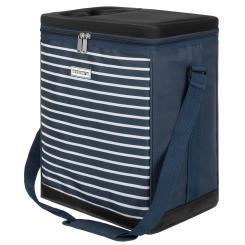 anndora Kühltasche 32 Liter navy blau weiß - Kühleinsatz -  reisenthel carrycruiser kompatibel