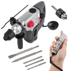 Powerplus Bohrhammer 1500 W + anndora LED Taschenlampe