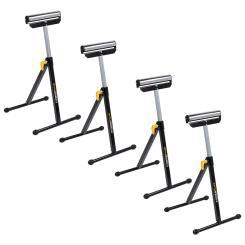 Rollenböcke 4er Set, höhenverstellbar + klappbar max. 60 kg je Bock