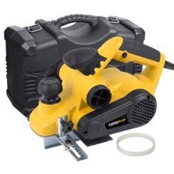 Elektrohobel 900 Watt 82 mm Hobelmesserbreite Varo + Koffer + Ersatz Keilriemen