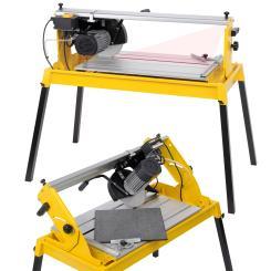 Fliesenschneider Nassschneider 1100 W Laser Diamanttrennscheibe Wasserbehälter
