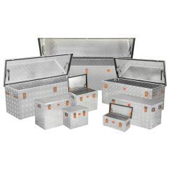 Riffelblechbox ALUBOX R37 bis 470 Liter