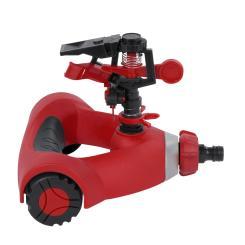 KREATOR Sprinkleranlage Sprinkler 0 - 360° Impuls Rasensprenger Sprühregner 22m