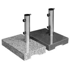 Sonnenschirmständer Granit 25kg Balkonständer max. 48mm Stamm - Farbwahl
