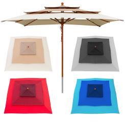 Sonnenschirm 3-lagig 3x3m - Farbwahl