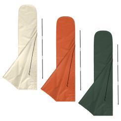 Schutzhülle für Sonnenschirme 3 x 3 m Husse Abdeckhaube anndora - Farbwahl