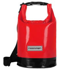 Wasserdichter Seesack Packsack 5 Liter - rot