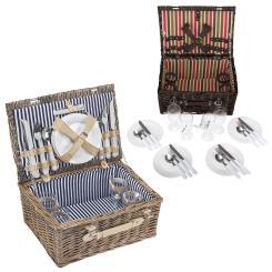 Picknickkorb  inkl. 21 Teile 4 Personen