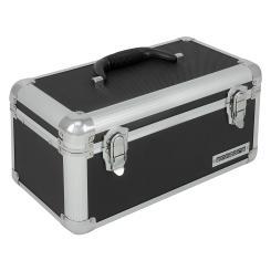 Werkzeugkoffer 13 Liter Transportbox Werkzeugkasten Werkzeugbox - schwarz