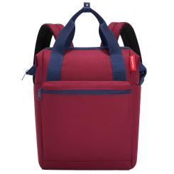 reisenthel Rucksack allrounder 12 Liter - dark ruby