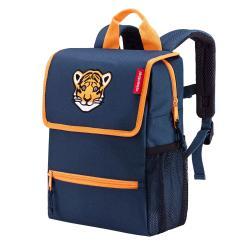 backpack kids tiger navy