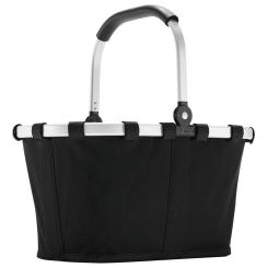 Reisenthel carrybag XS dots Einkaufskorb Picknickkorb Henkelkorb 5 Liter schwarz - Größe S