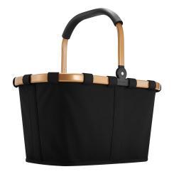 Einkaufskorb carrybag frame gold / schwarz 22 Liter reisenthel