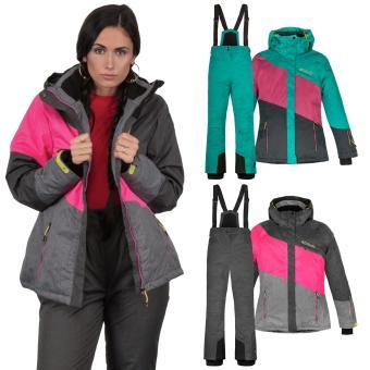 Killtec Skianzug Damen 2 teilig Skijacke + Skihose - Gr. 36-46 - Farbwahl