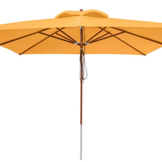 anndora Sonnenschirm 4 x 4 m Marktschirm Gastro...
