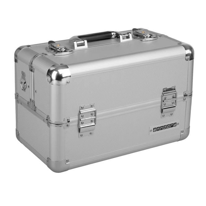 Image of anndora Multikoffer Sortimentskoffer silber - Silber