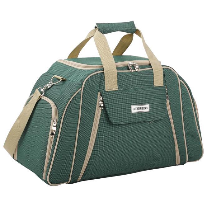 Picknicktasche aus Polyester, grün, vier Personen (Kopie) Anndora PAUSE (Awin)