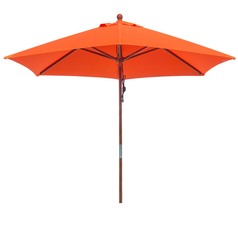 anndora sonnenschirm balkonschirm 2 5 m rund mit winddach uv schutz orange. Black Bedroom Furniture Sets. Home Design Ideas