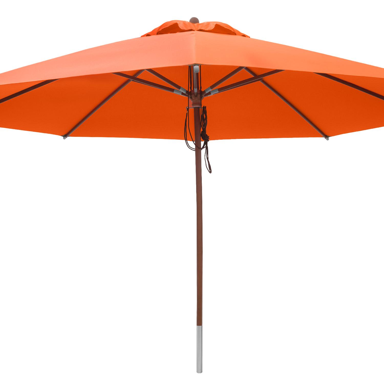 anndora sonnenschirm gastronomie 4 m rund mit winddach orange mandarin orange. Black Bedroom Furniture Sets. Home Design Ideas