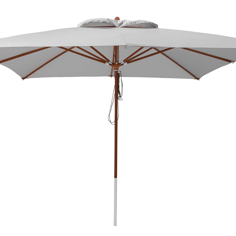 anndora sonnenschirm marktschirm gastronomie 4 x 4 m winddach silber grau. Black Bedroom Furniture Sets. Home Design Ideas