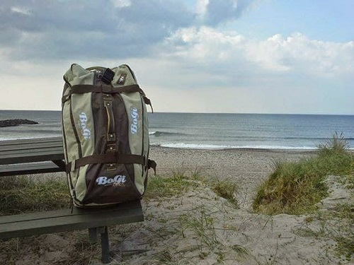 BoGi Bag, Strand, Meer, Urlaub, Koffer