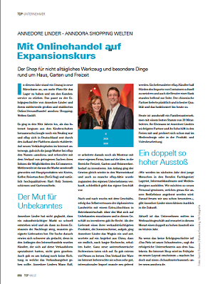 TOP Magazin Seite 1